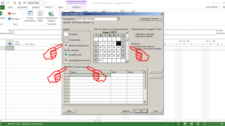 what are the eight preset work contours in ms project How to change a task duration in microsoft project scheduling within microsoft project will only be as good as the information put into the database it is important to select the proper duration units, and to know when the duration is an estimate.