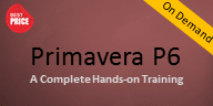 Primavera P6 Classroom Course – On Demand