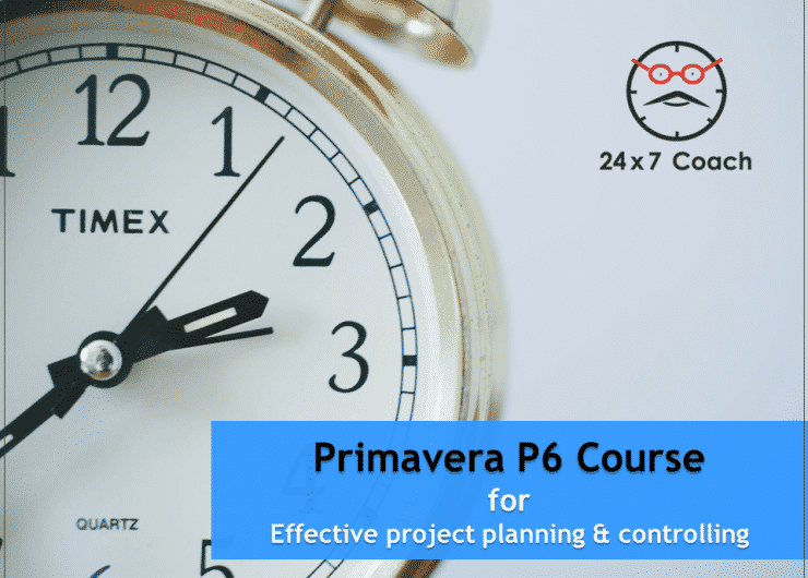 Primavera P6 Course Introduction