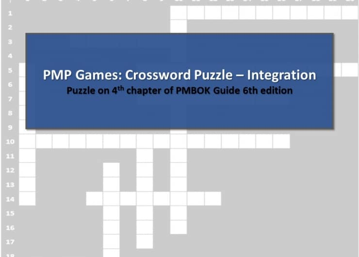 PMP Games: Crossword Puzzle – Integration Management